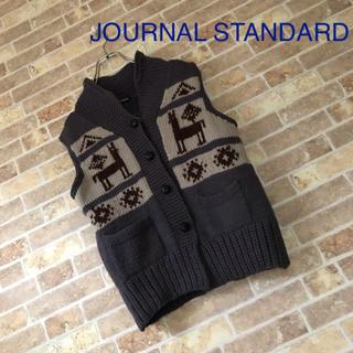 ジャーナルスタンダード(JOURNAL STANDARD)のJOURNAL STANDARD ノルディックニットベスト(ベスト/ジレ)