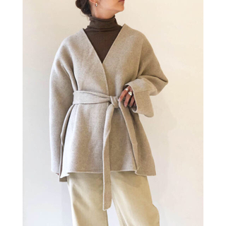 TODAYFUL - Todayful / Wool Short Gown