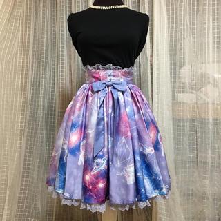 アンジェリックプリティー(Angelic Pretty)のドリーミープラネタリウム♡sk(ひざ丈スカート)