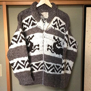 ロンハーマン(Ron Herman)のCOWICHAN INDIAN カウチンインディアン カウチン ニット セーター(ニット/セーター)