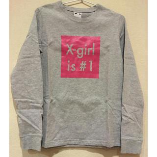 エックスガール(X-girl)の★美品★エックスガール 長袖 ロンt(Tシャツ(長袖/七分))
