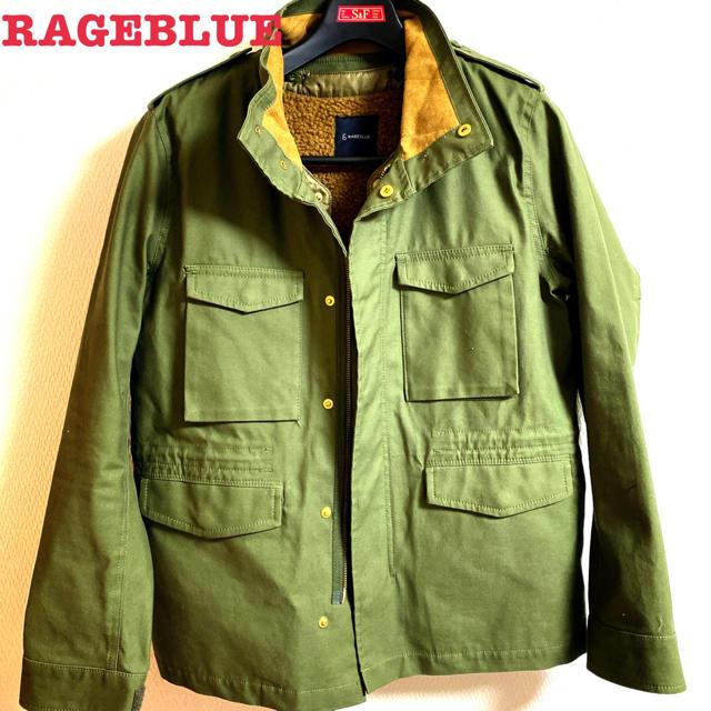 RAGEBLUE(レイジブルー)のレイジブルーミリタリージャケット メンズのジャケット/アウター(ミリタリージャケット)の商品写真