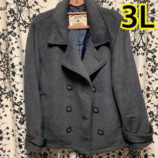 シマムラ(しまむら)の大きいサイズ♡ グレー Pコート 3L!(ピーコート)