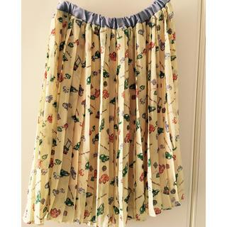 ジエンポリアム(THE EMPORIUM)の古着風 スカート(ひざ丈スカート)