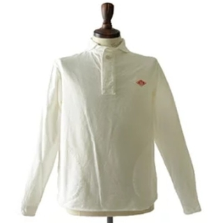 ダントン(DANTON)のDANTON ダントン コットンブラッシュド ラウンドカラーシャツ(シャツ/ブラウス(長袖/七分))