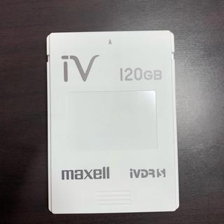 マクセル(maxell)のmaxell iVDR 120GB(テレビ)