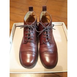 バークレー(BARCLAY)の革ショートブーツ(ブーツ)