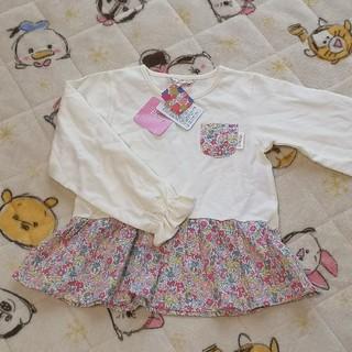 Disney - ☆ミニーマウス柄チュニック120☆