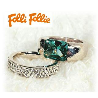 フォリフォリ(Folli Follie)のFolli Follie フォリフォリ◆ シルバーリング セット(リング(指輪))