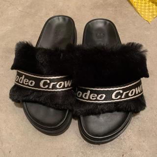ロデオクラウンズ(RODEO CROWNS)のロデオクラウンズ RODEO CROWNS ファーサンダル(サンダル)