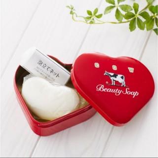 牛乳石鹸 - カウブランド 赤箱 ハート缶