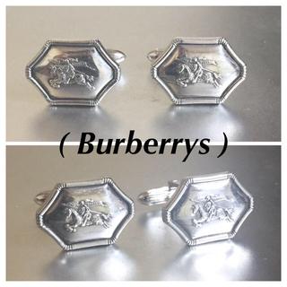 バーバリー(BURBERRY)のBurberrysバーバリーズ925silverカフリンクス カフス(カフリンクス)