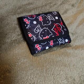 ハローキティ(ハローキティ)の【美品】ジッパータイプのコンパクト財布(財布)
