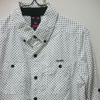 エックスガール(X-girl)のエックスガール ドットシャツ(シャツ/ブラウス(長袖/七分))