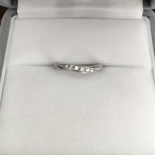 ヨンドシー(4℃)の4℃ ダイヤモンド リング Pt950 2.0mm 3.2g(リング(指輪))