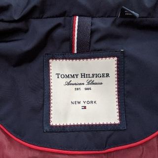 TOMMY HILFIGER - トミーフィルフィガー ダウンベスト ネイビー