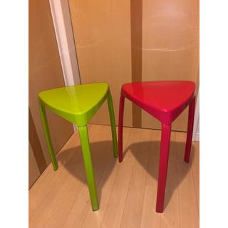 フランフラン(Francfranc)のフランフラン 椅子 トレススツール  2つセット(スツール)