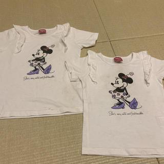 Disney - 子ども用 Tシャツ 130・110サイズ ミニーちゃん ディズニー