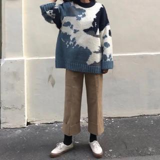 shop_ir ビックサイズアルパカニット(ニット/セーター)