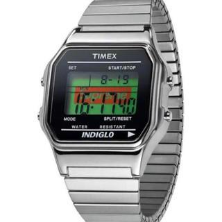 supreme timex シュプリーム タイメックス シルバー 腕時計