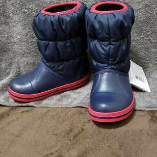 crocs - crocs キッズ用ブーツ 17.5センチ