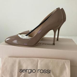 Sergio Rossi - 新品未使用 セルジオロッシ 36 ベージュ