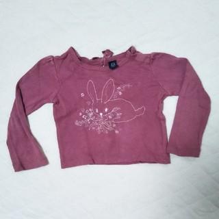 ベビーギャップ(babyGAP)のgapうさぎロンT(Tシャツ/カットソー)