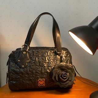 アナスイ(ANNA SUI)のアナスイANNA SUI ボストンバッグ 薔薇のポーチ付き(ハンドバッグ)