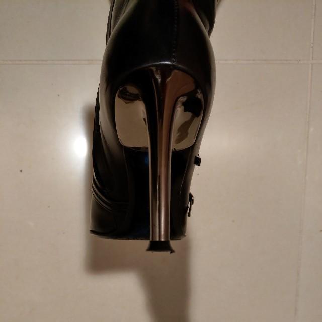 Sergio Rossi(セルジオロッシ)の【超お買い得】値下【SERGIO ROSSI  セルジオロッシ】ロングブーツ 黒 レディースの靴/シューズ(ブーツ)の商品写真