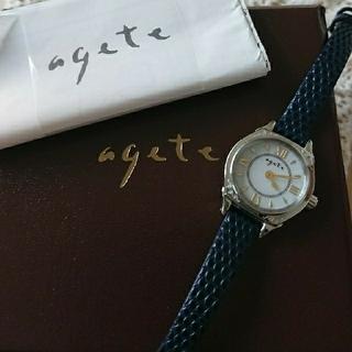 アガット(agete)の★値下げ中★agete 時計 ソーラー (腕時計)