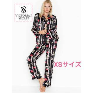 ヴィクトリアズシークレット(Victoria's Secret)のヴィクトリアシークレット サテン パジャマ XS【新品】【即日発送】(パジャマ)