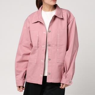 ウィゴー(WEGO)のDING ピンクジャケット(Gジャン/デニムジャケット)
