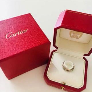 カルティエ(Cartier)のCartier ラブリング ホワイトゴールド(リング(指輪))
