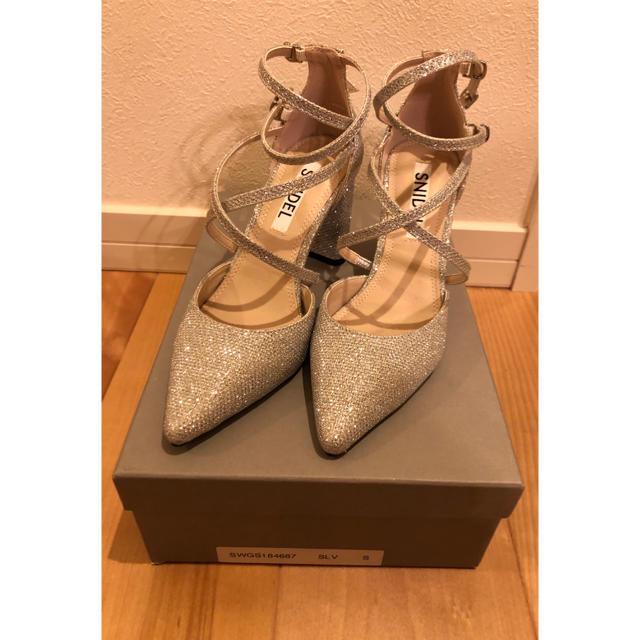 snidel(スナイデル)のsnidel ダブルストラップパンプス レディースの靴/シューズ(ハイヒール/パンプス)の商品写真