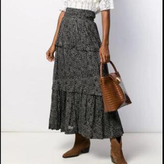 イザベルマラン(Isabel Marant)のISABELMARANT フローラル マキシスカート 34(ロングスカート)