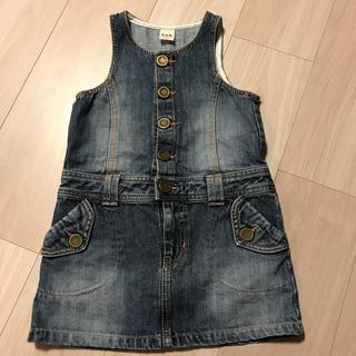 eaB - デニムジャンパースカート