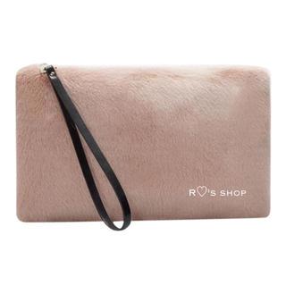 ZARA - 新品タグ付き♡ファークラッチバッグ ピンク ラドロー H&M WEGO GU