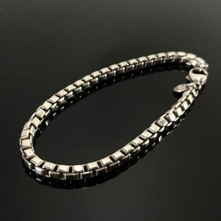 Tiffany & Co. - 美品 ティファニー ベネチアン シルバー ブレスレット AZ11