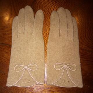 クリスチャンディオール(Christian Dior)のChristianDior手袋 難あり 匿名配送送料込み(手袋)