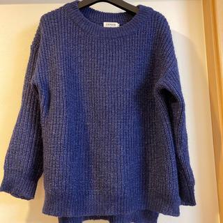 レプシィム(LEPSIM)のLEPSIM ブルー レディース ニット Mサイズ(ニット/セーター)