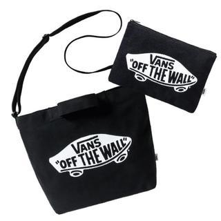 ヴァンズ(VANS)のVANS☆2WAYバッグ&フラットポーチセット(ショルダーバッグ)