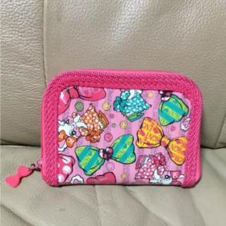 ロニィ(RONI)のRONI  ロニィ 二つ折りウォレット 財布 ピンク(財布)