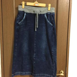 ベドウィン(BEDWIN)のEDWIN ストレッチ デニムスカート(ひざ丈スカート)