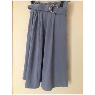 しまむら - ブルー くすみブルー スカート