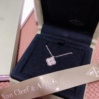 Van Cleef & Arpels - ヴァンクリーフ&アーペル スウィート アルハンブラダイヤモンド
