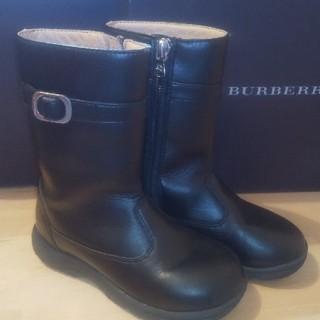 バーバリー(BURBERRY)のBURBERRY バーバリー ブーツ 16cm(ブーツ)