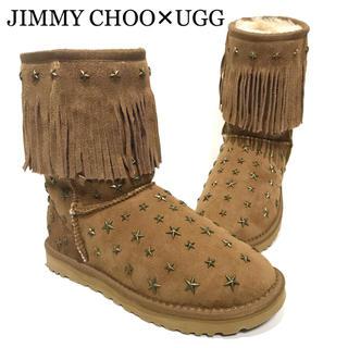 ジミーチュウ(JIMMY CHOO)の【UGG & Jimmy Choo】約23.0cm ムートンブーツ レディース(ブーツ)