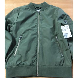 値下げ H&M  MA-1ジャケット キッズジャケット アウター カーキ