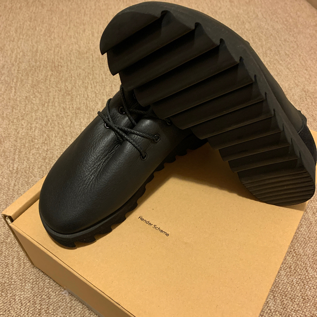 Hender Scheme(エンダースキーマ)の【新品未使用】Hender Scheme 18AW mouton lace  メンズの靴/シューズ(ブーツ)の商品写真