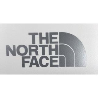 ザノースフェイス(THE NORTH FACE)のノースフェイス ステッカー (カッティング シルバー)(ステッカー)
